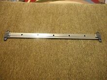 GE Dishwasher Upper Rack  Slide  WD30X10042 With WD12X10426 End Cap Part