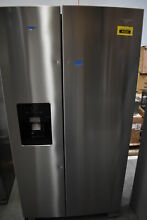 Whirlpool WRS555SIHZ 36  Stainless Side By Side Refrigerator  40609 HRT