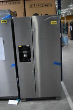 Whirlpool WRS321SDHZ 33  Stainless Side By Side Refrigerator NOB  40639 CLN