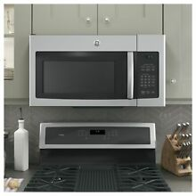 GE 1 6 cubic Feet Over the range Microwave Oven   Stainless Steel