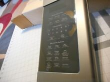 GE Microwave Complete Control Panel    USED PART    A