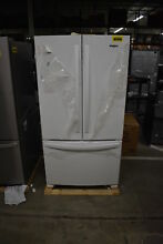 Whirlpool WRF535SMHW 36  White French Door Refrigerator NOB  38123 HRT