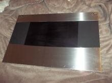 THERMADOR range RDSS30RS oven door glass black and stainless  00414187   414187