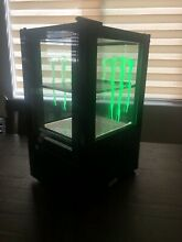 Monster Energy Drink Mini Fridge Crystal Coolers  CTM036CE 3 GLOWING M s RARE