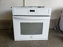 Kenmore 49402 27  Electric Self Clean Single Wall Oven   White