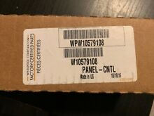 Whirlpool Dishwasher  PANEL CNTL  WPW10579108