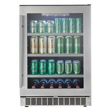 Brand New Danby 23 82 in  126  12 oz  Can Beverage Cooler