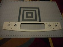 GE Range Control Panel Face Plate Bisque NEW Part Free Shipping  B
