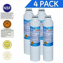 IcePure RFC0700A Water Filter for Samsung Refrigerators  Pack of 4