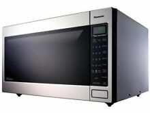 Panasonic 2 2 cu  Countertop Microwave Oven in Stainless Steel Built In   5067