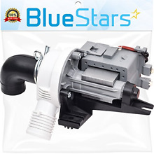 Ultra Durable W10536347 Washer Drain Pump Replacement part by Blue Stars  Exact