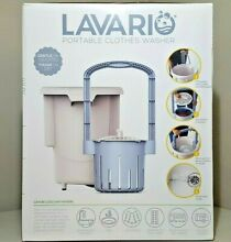 Lavario Portable Clothes Washer Manual Non Electric Portable Washing Machine NEW