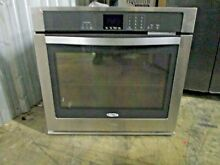 Whirlpool WOS51EC0AS 30  Stainless Single Electric Wall Oven NOB