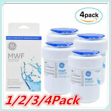 1 2 3 4Pack MWF MWFP GWF 46 9991 General Electric Smartwater Water Filter New