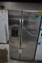 GE GSE25GSHSS 36  Stainless Side By Side Refrigerator NOB  32932 CLN