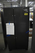 Whirlpool WRS321SDHV 33  Black Stainless Side By Side Refrigerator  41325 HRT
