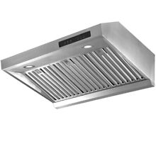 30  Under Cabinet Range Hood Stainless Steel Filter 3 Speed 800CFM Auto Shut off