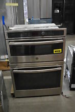 GE Profile PT7800SHSS 30  Stainless Double Combination Wall Oven NOB  41422 MAD