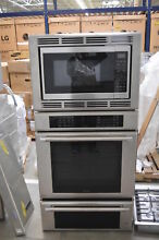 Thermador MEDMCW31JP 30  Stainless Triple Combo Wall Oven NOB  32818 HRT