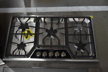 Thermador SGSX365FS 36  Stainless 5 Burner Gas Cooktop NOB  33414 HRT