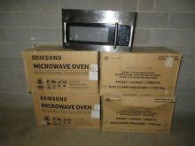 Lot of 5 Microwave Ovens  1 LG  2 GE  2 Samsung  AS IS FOR PARTS OR REPAIR