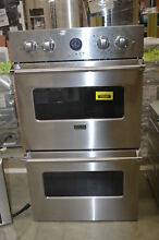 Viking VEDO5302SS 30  Stainless Electric Convection Double Wall Oven  31866 MAD