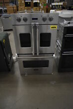 Viking VDOF730SS 30  Stainless Double Electric French Oven NOB  37124 MAD