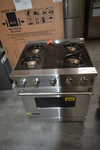 Viking VGIC53014BSS 30  Stainless Pro Style Gas Range Used  29099 HL