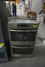 GE JT3500SFSS 30  Stainless Double Wall Oven NOB  41837 HRT