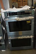 GE Monogram ZET9550SHSS 30  Stainless Double Electric Wall Oven NOB  41823 HRT