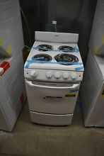Hotpoint RA720KWH 20  White Freestanding Electric Range  41912 HRT