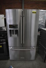 KitchenAid KRFF707ESS 36  Stainless French Door Refrigerator  42052 HRT