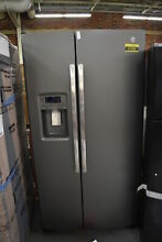 GE GSS25GMHES 36  Slate Side By Side Refrigerator NOB  41995 CLW