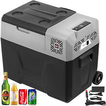 57QT Portable Fridge Freezer LG compressor 12 24V DC Truck Quick Cooling Outdoor
