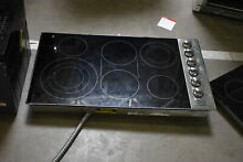 Viking VEC5366BSB 36  Stainless Smoothtop 6 Burner Electric Cooktop  42066 HRT