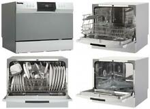 Countertop Dishwasher Stainless Steel feature compatible with kitchen faucets US