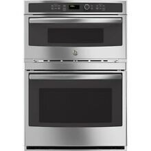 30  GE Self cleaning Microwave Wall Oven Combo JT3800SHSS   Stainless Steel