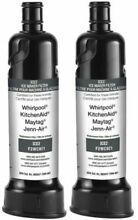F2WC9I1 2 PAK Genuine Whirlpool Maytag Ice Maker ICE2 Water Filter BRAND NEW OEM