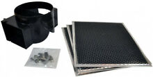 Recirculation Kit Wall Range Hood Used 11 5 In  Part Accessory Charcoal Filters