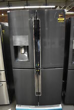 Samsung RF23J9011SG 36  Black Stainless French Door Refrigerator NOB  37544 HRT
