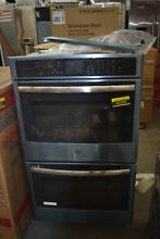 GE Profile PT7550SFSS 30  Stainless Double Wall Oven w Convection NOB  42249 CLN