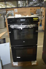GE Profile PK7500DFBB 27  Black Double Electric Wall Oven NOB  42261 HRT