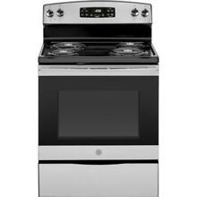 GE JB258RMSS 30  Electric Range with Self Cleaning Oven in Stainless Steel O 09