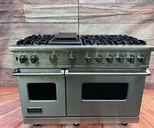 NEW Viking Range Pro Style 48  All Gas  Self cleaning  2 Large Ovens  Warranty