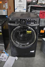GE GFW490RPKDG 28  Diamond Gray Front Load Washer NOB  42412 HRT