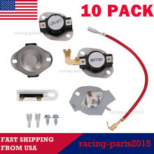 3977767 10 Pieces for Whirlpool Kenmore Dryer Thermostat Limit PS351925 3399693