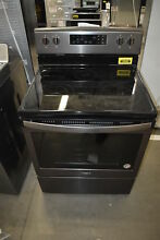 Whirlpool WFE525S0HV 30  Black Stainless Electric Range NOB  38585 CLW