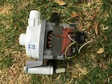 Bosch dishwasher SGS4072AU 36   wash pump motor K140218