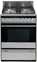 Fisher Paykel OR24SDMBGX2 24  Stainless Pro Style Gas Range NIB HRT