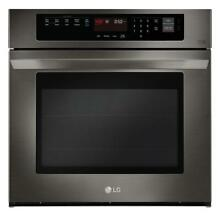 LG Electronics 30   Electric Wall Oven  LWS3063BD Convection Black Stainless